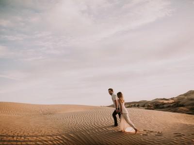 sand dunes engagements : geneva + bryan