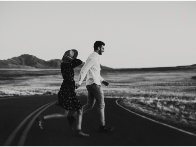 desert engagements : ashley + trevor