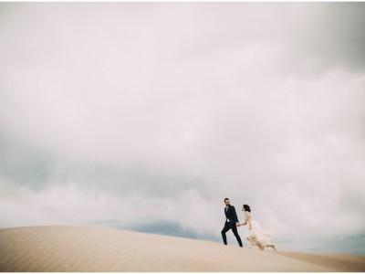 Emma + Blaine : Sand Dunes