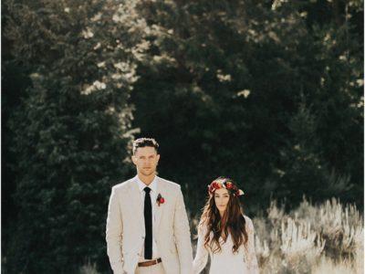 Summertime Mountaintop Wedding